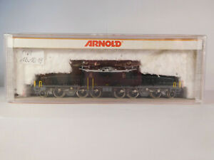 "Arnold 2465 Spur N Krokodil Br Ce 6/8 14270 SBB ""ersatzverpackung!"""