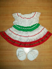 "16"" CPK Cabbage Patch Kids TRADITIONAL MEXICAN FIESTA PARTY DRESS CINCO DE MAYO"