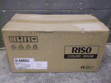 RISO Ez391 Ez590 Ez591 Bright Red Duplicator Drum Part # S4885 Tested Works