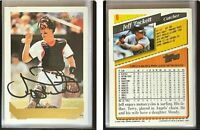 Jeff Tackett Signed 1993 Topps Gold #6 Card Baltimore Orioles Auto Autograph