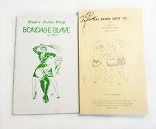 Bizarre Fiction Rex Books Dominatrix BDSM Bondage Slave Slap Harder Sue Lesbos