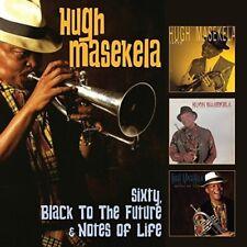 Hugh Masekela - Sixty / Black To The Future / Notes Of Life [New CD] UK - Import