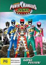 Power Rangers Dino Super Charge Gone Fishin' DVD R4