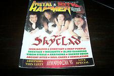 METAL HAMMER MAGAZINE 3/1996 SKYCLAD IRON MAIDEN MEGADETH