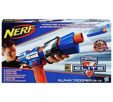 *New* NERF ALPHA TROOPER CS-12 N-STRIKE Elite Dart BLASTER *IN BOX* RAPID