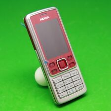 Nokia 6300 - Red (Unlocked) Mobile Phone