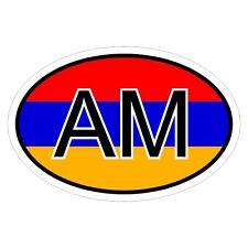 Armenien AM - csd0262 Autoaufkleber Sticker Aufkleber KFZ Flagge