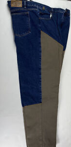 Vintage Guide Gear Hunting Jeans Mens Size 46x32 Canvas Brush Hunting Big & Tall