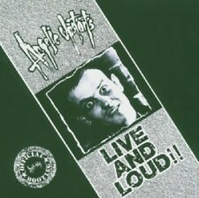 Angelic Upstarts Live And Loud CD NEW SEALED Punk Liddle Towers/I'm An Upstart+