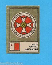 FOOTBALL CLUBS-PANINI 1975-Figurina n.186- MALTA -SCUDETTO/BADGE-Rec
