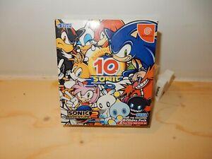 NTSC-JAP DC: Sonic Adventure 2 Birthday Pack Complete CIB Boxed Sega Dreamcast