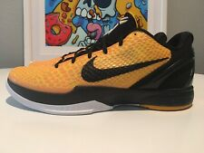 NEW Nike Kobe Zoom VI 6 Lightbulb Size 12 DS Like Bruce Lee V Iv Yellow