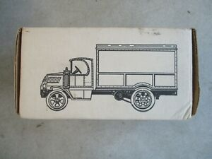 VINTAGE 1926 MACK DELIVERY TRUCK DIE CAST METAL COIN BANK 1/38 SCALE 1989 ERTL