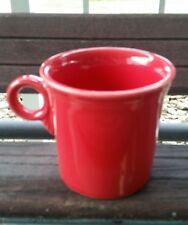 Fiesta Ware Homer Laughlin Fiesta  Scarlet Red Cup Tom & Jerry Mug