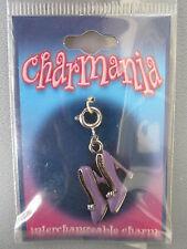Charmania Purple Hi-Heel Shoes Interchangeable Charm