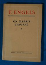 Engels On Marx's Capital Foreign Languages Publishing House Moscow Paperback