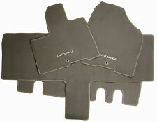 4 New Floor Mats Set Replacement Carpeted Dark Beige For Hyundai Entourage