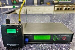 Sennheiser ew 300 IEM G2 Wireless Transmitter & Bodypack Receiver Works Great!