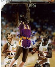 BOB MCADOO VS NUGGETS LOS ANGELES LAKERS SIGNED AUTOGRAPHED 8X10 PHOTO W/COA