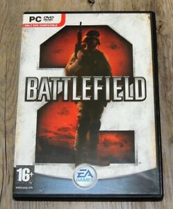 Battlefield 2 - PC Game 2005 EA Games - Boxed with Manual