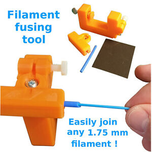 Filament splicing tool HIPS PC WOOD CARBON FIBRE 1.75mm reliable joining kit