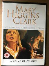 Cynthia Gibb Una Acción OF PASSION Mary Higgins Clark Drama GB DVD