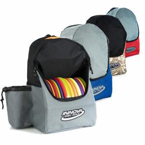 Innova DISCOVER BACKPACK BAG For Disc Golf *Pick Color* Holds 15 Discs