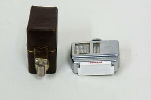 Vintage Sixti Shoe Mount Gossen Light Meter