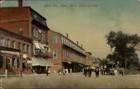 Ayer MA Main St. c1910 Postcard