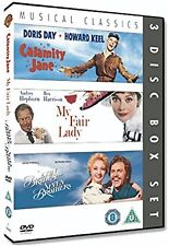 Calamity Jane/Seven Brides For Seven Brothers/My Fair Lady 3-Disc NEW UK R2 DVD