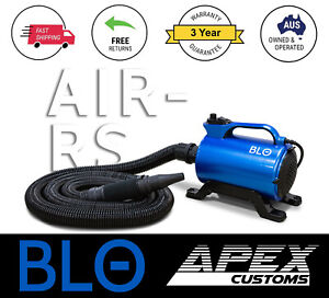 Blo Air RS Touchless Scratch-Free Detailing Car Bike Blower Dryer Pet Grooming