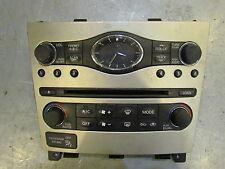 2007 Infiniti G35X Radio Faceplate 25391 JK600