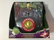 Bandai Mighty Morphin Power Rangers Mini Mix & Morph Base Red & Green New 2009