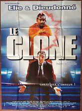 Affiche LE CLONE Fabio Conversi ELIE SEMOUN Dieudonné 120x160cm *D