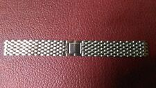 watch bands BRACELET DE MONTRE / METAL ACIER 18MM   (4 découpes)   / OV 30