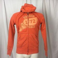 Nike Oregon Track M Men's Sweat Orange Hoodie Winged Foot Sandal 1-72 Zip Up