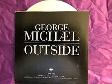 GEORGE MICHAEL RARE Outside AUSSIE PROMO Only Card CD SINGLE