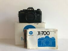 Minolta X-700 35mm in box, SLR Film Camera Body Only