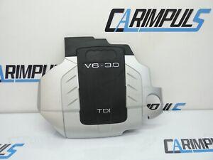 Orig Audi A6 4F 3.0 TDI V6 Motorabdeckung Verkleidung 059103925AH 059103925AG