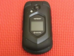 Kyocera DuraVX 4G LTE E4610 Black Rugged Flip Cell Phone Verizon Wireless