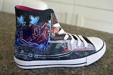 PANIC! AT THE DISCO CUSTOM HAND PAINTED HIGH TOPS MADE TO ORDER
