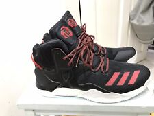 Adidas Derrick D Rose 7 Basketball Shoes Trainers Brand New Size 13.5 Black Red