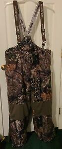 mossy oak camo bibs pants suspenders size 3XL
