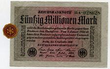 Germany 50.000.000 Mark 1923 15A-028628