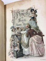 La Francaise Du Siecle French Book By Octave Uzanne 1886