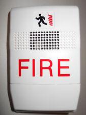 New EST Edwards Genesis G1F-HD-E, Temporal Fire Alarm Horn, 24VDC