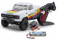 Kyosho # 34361T1B Outlaw Rampage 1-10 EP 2WD Truck KT231P T1 Blanc RTR