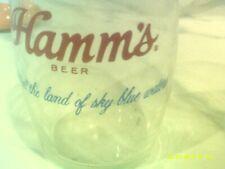 Vintage Hamm's Barrel Glass