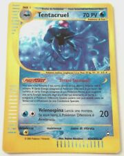 TENTACRUEL H26/H32 SET AQUAPOLIS RARA HOLO CARTA POKEMON ITALIANA GOOD