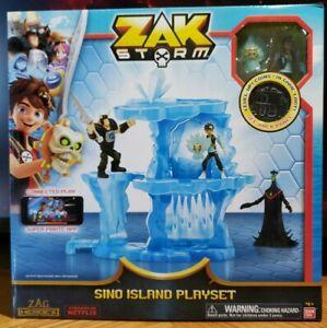 Zak Storm Sino Island Playset NIB Unopened Bandai